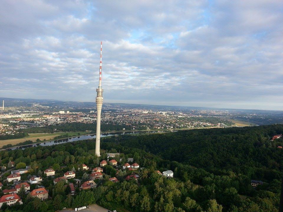 Luftaufnahme aus einem Heisluftballon
