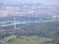 Luftaufnahme vom Fernsehturm