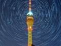 Der Fernsehturm bei Nacht