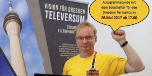 Der Fernsehturm Dresden e.V. präsentiert sich an der DankBar im Kaufpark Nickern @ Kaufpark NIckern